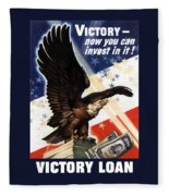 Victory Loan Bald Eagle Fleece Blanket