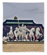 Vienna Austria Dan051 Fleece Blanket