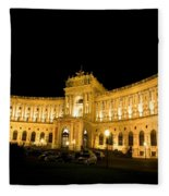 Vienna National Library Fleece Blanket