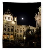 Vienna Natural History Museum Fleece Blanket