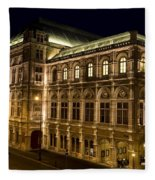 Vienna State Opera Fleece Blanket