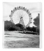 Viennese Giant Wheel Fleece Blanket