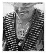 Vietnam War: Soldier, 1970 Fleece Blanket