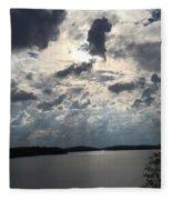 View Across Wappapello Lake IIi Fleece Blanket