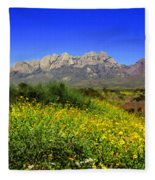 View From Dripping Springs Rd Fleece Blanket