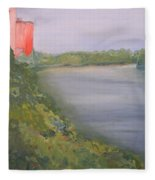 View From Edmund Pettus Bridge Fleece Blanket