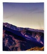 View From Eleven Ranges Overlook Fleece Blanket