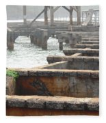 View From Hanamaulu Fleece Blanket