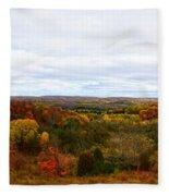 View From Kidder Road Fleece Blanket