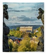 View From Kuks Hospital - Czechia Fleece Blanket