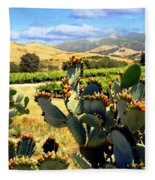 View From Santa Rosa Road Fleece Blanket