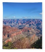View From The South Rim Fleece Blanket