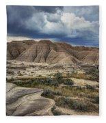View From The Top - Toadstool  Fleece Blanket