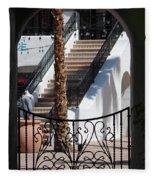 View Of Courtyard Through Adobe Doorway Photograph By Colleen Fleece Blanket