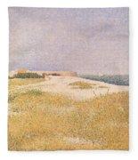 View Of Fort Samson Fleece Blanket