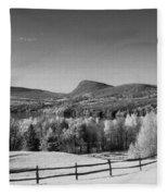 View Of Lake Willoughby Fleece Blanket
