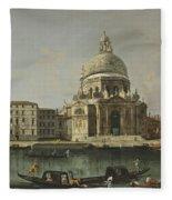 View Of Santa Maria Della Salute. Venice Fleece Blanket