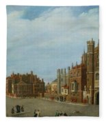 View Of St. James's Palace And Pall Mal Fleece Blanket