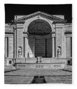 View  Of The Memorial Amphitheater At Arlington Cemetery  Fleece Blanket