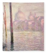 View Of Venice Fleece Blanket