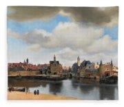 View On Delft Fleece Blanket