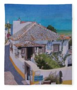 View On Obidos Fleece Blanket