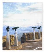 View The Columbia At The Vista House Fleece Blanket