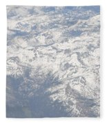 Views From The Sky Fleece Blanket