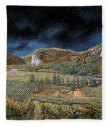 Vigne Nella Notte Fleece Blanket