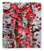 Vignettes - Apples Cider Fleece Blanket