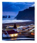 Vik Iceland Fleece Blanket