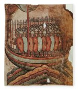 Viking Invasion 919 Fleece Blanket