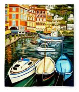 Villa Franche Fleece Blanket