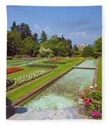 Villa Taranto Gardens,lake Maggiore,italy Fleece Blanket