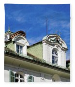 Villa Yagerhaus 5 Fleece Blanket