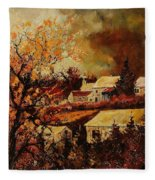 Village Curfoz Fleece Blanket