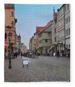Village Stadt Fleece Blanket