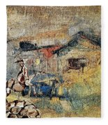 Village Zone 1 Fleece Blanket