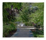 Villanova Fountain Fleece Blanket