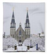 Villanova Snow Fleece Blanket