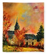 Villers Sur Semois Fleece Blanket