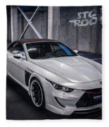 Vilner Bmw M6 E64 Stormtrooper 2014 Fleece Blanket