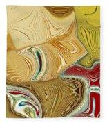 Vincent Meets Pablo Fleece Blanket