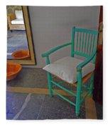 Vincent's Chair Fleece Blanket
