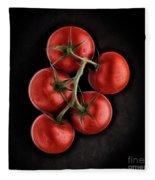 Vine Ripened Tomatoes. Fleece Blanket