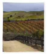 Vineyard 2 Fleece Blanket