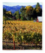 Vineyard 4 Fleece Blanket