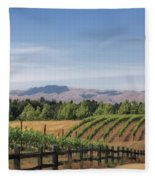 Vineyard Fleece Blanket