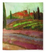 Tuscany Vineyard Fleece Blanket