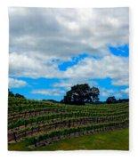 Vineyards In Paso Robles Fleece Blanket